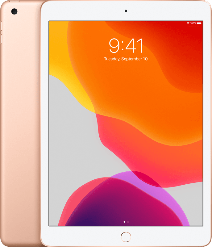 Apple ipad 2019 32gb goud wifi