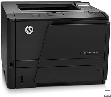 Hp laserjet pro 400 m401dn - printer