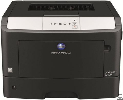 Konica bizhub 3300p - printer