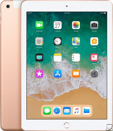 Apple refurbished ipad 2018 32gb wifi goud a-grade