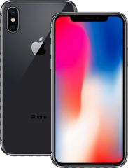 Apple iPhone X - 64GB - Space Grey - A  Grade - Zo goed als nieuw
