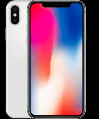 Apple iphone x 64gb silver - b grade