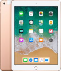 Apple refurbished ipad 2018 128gb wifi   4g goud b-grade