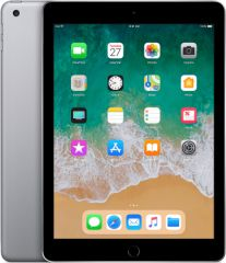 Apple refurbished ipad 2018 32gb wifi   4g zwart/space grijs c-grade
