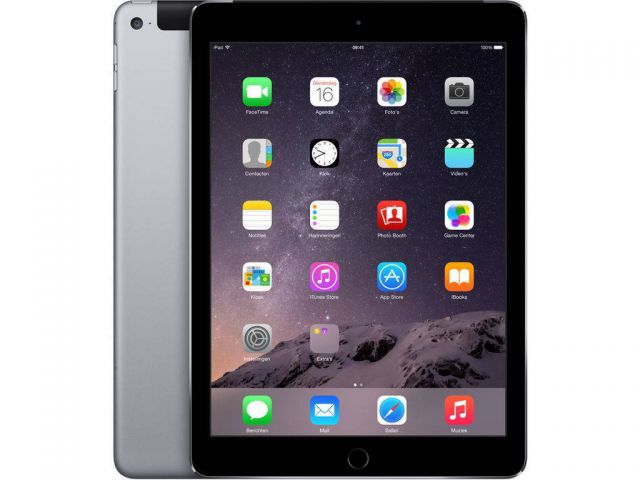 Apple refurbished ipad air 2 32gb wifi   4g zwart/space grijs c-grade