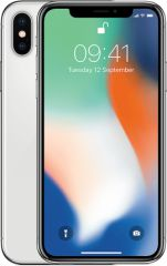 Apple refurbished iphone x 256gb silver a-grade